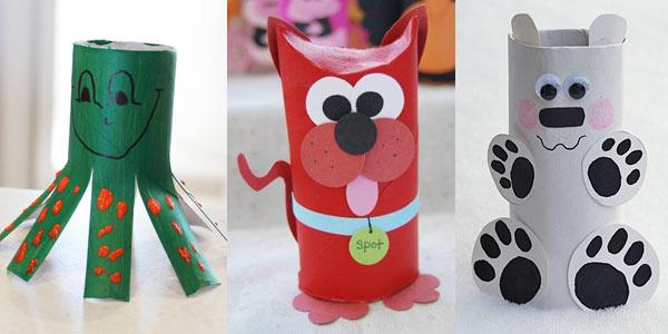 Decorazioni Di Natale Dai Rotoli Di Carta Igienica Idee