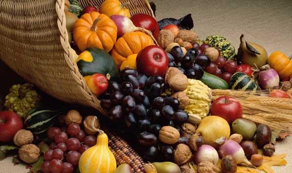 Frutta e verdura in ottobre